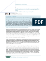 High Value Requirements Changing Application Develeopment Delivery Forrester Research
