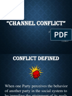 SOHAIl Channel Conflict