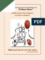 TEMA 9 Malas Motas No Castigues a Tus Hijos Sin Deporte.