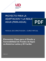 Manual Curso Fondos de Agua