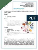 Actividad Sensopercepción - Jiménez Gisselle, Medina César