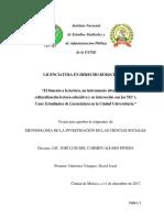Tabla de Contenido_derecho Social_trab Final