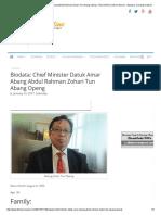 Biodata_ Chief Minister Datuk Amar Abang Abdul Rahman Zohari Tun Abang Openg – BorneoPost Online _ Borneo , Malaysia, Sarawak Daily News _ Largest English Daily in Borneo