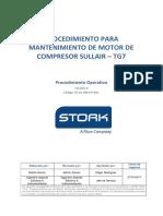 Sp-10-Om-po-001 Mantenimiento de Motor Compresor Sullair Tg7