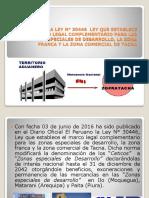 ANÁLISIS DE LA LEY N° 30446  LEY