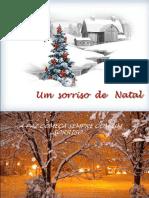 Mensagem Slides Um Sorriso de Natal