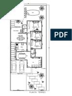 Casa Bom Despacho - Planta de Piso - Nível 1 Model (1)