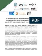 Organizaciones internacionales llaman la atención del mundo sobre la rampante impunidad en México