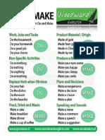 Verbs Do and Make