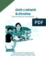 Formulación y evaluación de alternativas