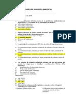 cuestionario ambiental