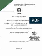 Cerón, Ángel - 2004 - Antropología y Posmodernidad El caso de la Cibercultura (Discusión y análisis crítico).pdf