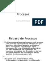 Procesos & Concurrencia S.O.