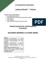 Carducci Dante Musica Triennio