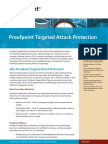 Proofpoint Targeted Attack Protection Ds