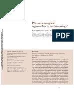 DESJARLAIS, Robert & THROOP, Jason - Phenomenological Approaches in Anthropology(1)