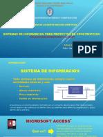 Sistemas de Informacion en Proyectos de Construccion