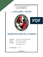 Geomorfología de La Cuenca