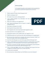 SCHENGEN Frequently Asked Questions En