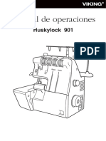 Huskylock 901 Manual ES