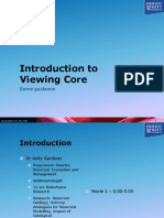 01_Introduction to Viewing Core