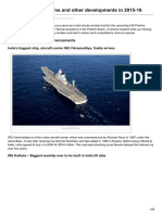 Xaam.in-indian Missile Systems and Other Developments in 2015-16