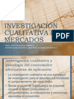 Investigación Cualitativa de Mercados