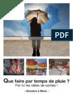 Prog Par Temps de Pluie Oct-mars sur Vannes
