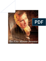 The Five Minute Investor