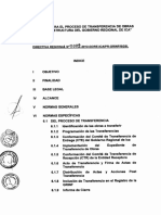 Directiva Transferencia Obras
