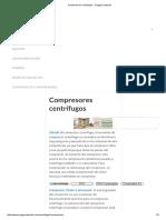 Compresores centrífugos - EnggCyclopedia