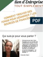 Présentation-financement