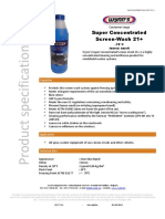 773XX Super Concentrated Screen Wash En