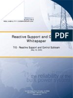 NERC Reactive Support and Control Whitepaper