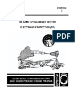US ARMY INTELLIGENCE CENTER ELECTRONIC PROTECTION (EP)