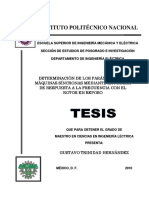 Determinacion De Los Parametros De Maquinas Sincronas Mediante La Prueba De Respuesta A La Frecuencia Con El Rotor En Reposo.pdf