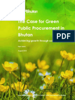 The Case Fo GPP in Bhutan Web Version