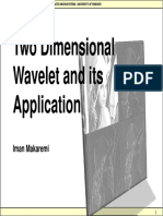 6-2d Wavelet and Its Application