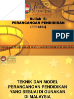 Teknik & Model Perancangan Pendidikan (2)