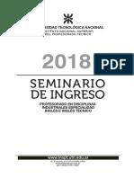 Seminarioingreso 2018 Ingles InsptUtn