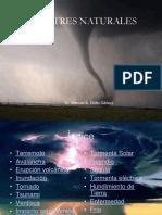 Desastres Naturales ( Defensa Nacional )