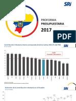 Sri - Proforma Presupuestaria 2017