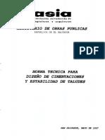 Normas Tecnicas Para Diseño de Cimentacion y Estabilidad de Taludes