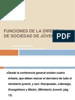 Funciones de La Directiva Ja