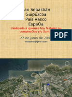 San Sebastián, País Vasco, España