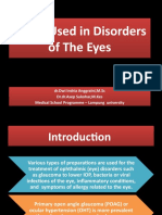 Drugs Used in Disorders of the Eyes