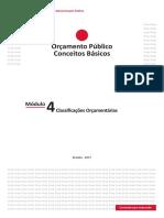 Módulo 4 - Classificações Orçamentárias.pdf