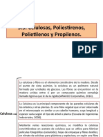 5.5. Celulosa, Polimeros