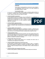 Analisis de Las Clausulas
