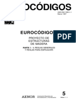 EUROCODIGO (Estructuras de Madera)